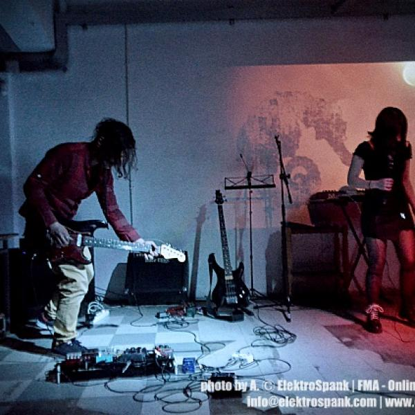 Meat Injection - Dead Santa, live @Chimeres.Space, Future Sonic Festival |||, 13/4/2019